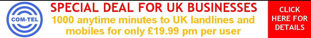 COM-TEL Special VoIP Offer